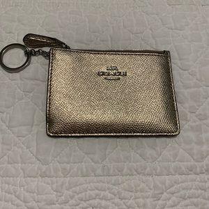 Coach Card Holder/Key Chain